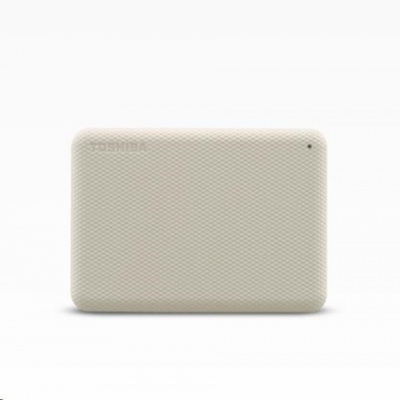 "TOSHIBA HDD CANVIO ADVANCE (NEW) 4TB, 2,5"", USB 3.2 Gen 1, bílá / white"