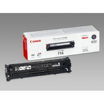 Canon LASER TONER black CRG-716BK, 2.300 stran (CRG716BK) 2 300 stran*