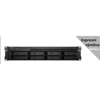 Synology RS1221+ RackStation (4C/Ryzen V1500B/2,2GHz/4GBRAM/8xSATA/2xUSB3.0/4xGbE/1xPCle)