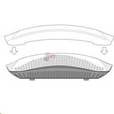 207-CVR-20 20-pk for AP-207 with Holes for LED Indicators White Non-glossy Snap-on Covers