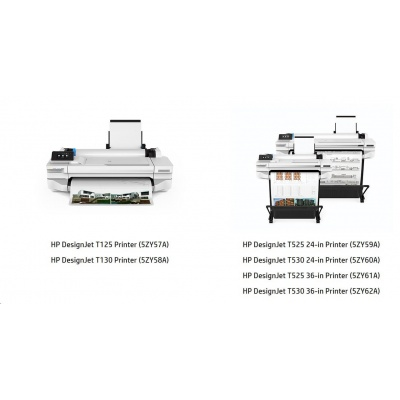 "HP DesignJet T525 36"" (A0+, 35s  A1, USB 2.0, Ethernet, Wi-Fi)"