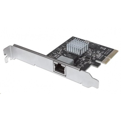 Intellinet 10 Gigabit PCI Express Network Card, 1x 10GBase-T RJ45 port