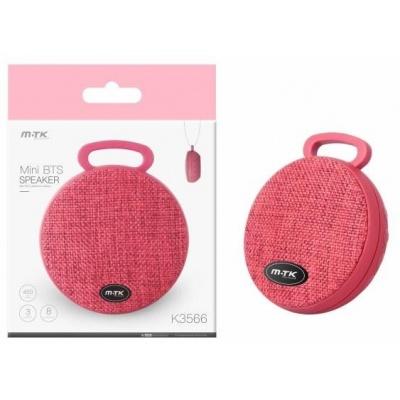 PLUS Bluetooth reproduktor Mini K3566, červená