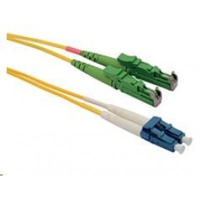 Solarix Patch kabel 9/125 E2000apc/LCupc SM OS 1m duplex SXPC-E2000/LC-APC/UPC-OS-1M-D