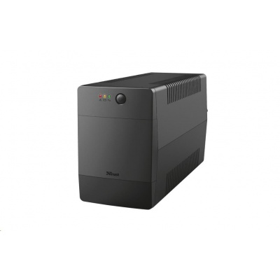 TRUST UPS Paxxon 1000VA UPS with 4 standard wall power outlets