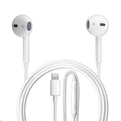 4smarts stereo sluchátka s mikrofonem Melody 2, konektor Lightning, bílá