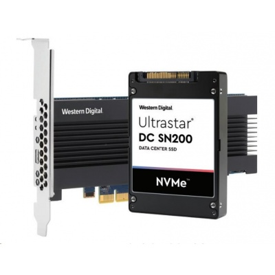 Western Digital Ultrastar® SSD 7.68TB (HUSMR7676BHP3Y1) DC SN200 HH-HL PCIe MLC RI 15NM, DW/D R3