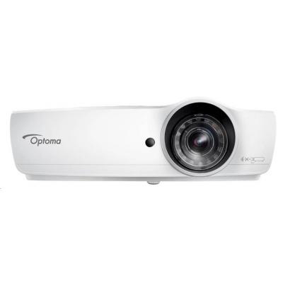 Optoma projektor W460ST (DLP, FULL 3D, WXGA, 4 200 ANSI, 20 000:1, HDMI, MHL, VGA, Audio, USB, 10W speaker)