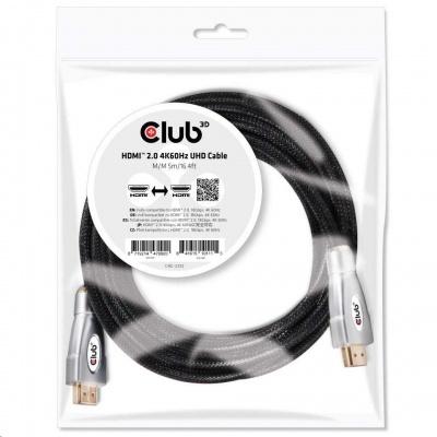Club3D Kabel HDMI 2.0, High Speed 4K60Hz UHD (M/M), 5m