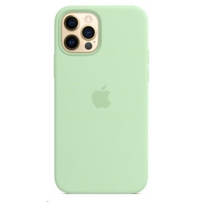 Apple iPhone 12 | 12 Pro Silicone Case with MagSafe - Pistachio