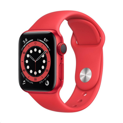 Apple Watch Series 6 GPS + Cellular, 40mm (PRODUCT)RED Alum. Case + (PRODUCT)RED Sport Band - Regular