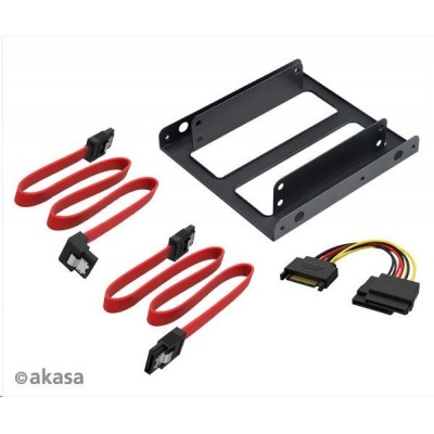 """AKASA adaptér 2.5"""" SSD a HDD + SATA kabely"""
