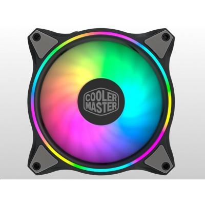 Cooler Master chladič Master Fan MF120 HALO 3in1, Dual Loop aRGB, 120x120x25mm