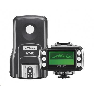 Metz rádiový odpaľovač a prijímač WT-1 v sete pre Canon