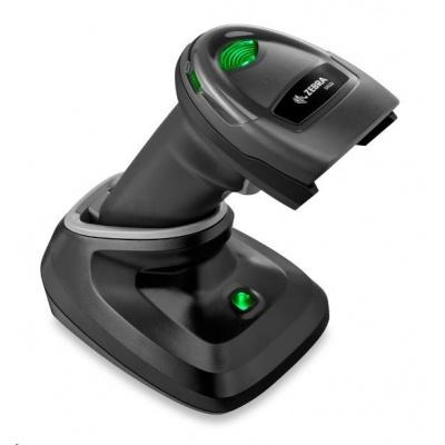 Zebra čítačka DS2278-SR USB KIT 2D black, USB kábel, (prezentačná stojan) - 10m dosah