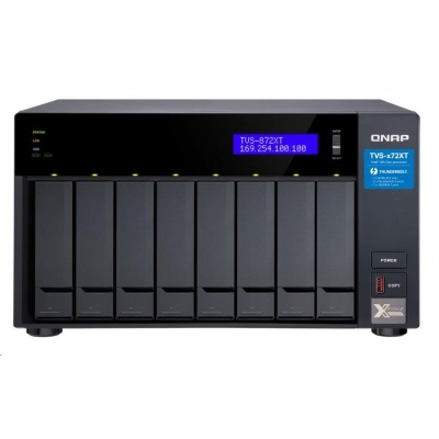 QNAP TVS-872XT-i5-16G (6C/1,7-3,3GHz/16GBRAM/8xSATA/2xM.2/2xGbE/1x10GbE/1xUSB3.0/4xUSB3.1/2xPCIe/1xHDMI/2xTB3)
