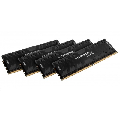 128GB 3600MHz DDR4 CL18 DIMM (Kit of 4) XMP HyperX Predator