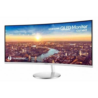 """SAMSUNG MT LED LCD 34"""" C34J791W - prohnutý, VA, 3440x1440, 2xUSB, HDMI, DisplayPort, 4 ms"""