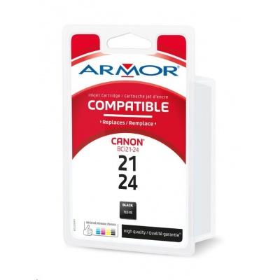 ARMOR cartridge pro CANON S200/300/i250/i350/i455 Black (BCI-24Bk)