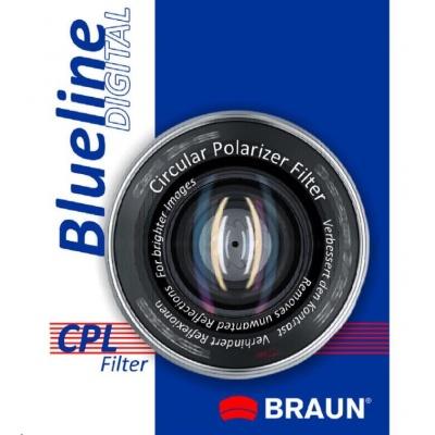 Braun filtr C-PL BlueLine 49 mm