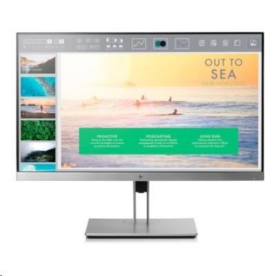 """HP LCD E233 23"""" 1920x1080, panel IPS w/LED micro-edge, jas 250 cd/m2, 1000:1, 5 ms g/g, VGA, DP 1.2, HDMI 1.4, USB3.0"""