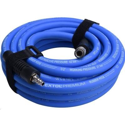 "Extol Premium (8865149) hadice vzduchová, guma, s rychlospojkami, 1/2"", (13/19mm), 10m"