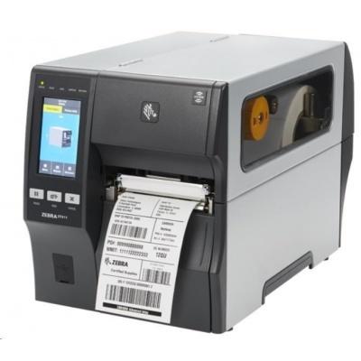 """Zebra ZT411,průmyslová 4"""" tiskárna,(300 dpi),peeler,disp. (colour),RTC,EPL,ZPL,ZPLII,USB,RS232,BT,Ethernet"""