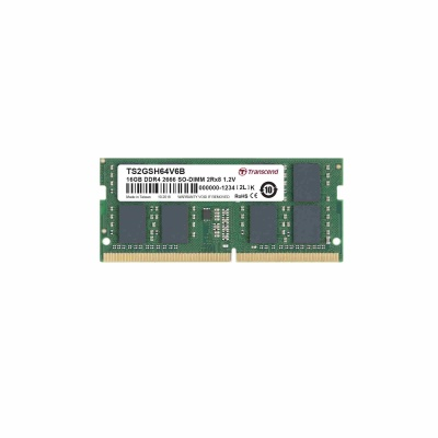 SODIMM DDR4 8GB 2666MHz TRANSCEND 1Rx8 1Gx8 CL19 1.2V