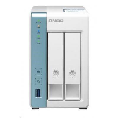 QNAP TS-231P3-4G (4C/AL314/1,7Ghz/4GBRAM/2xSATA/1x2,5GbE/1xGbE/3xUSB3.2)
