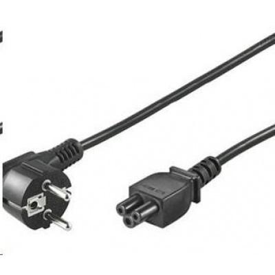 PREMIUMCORD Kabel síťový 230V k notebooku 3m, trojlístek