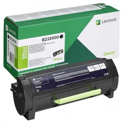 Lexmark černý toner pro B2338/B2442/B2546/B2650/ MB2338/MB2442/MB2546/MB2650 z programu Lexmark Return na 3 000 stran