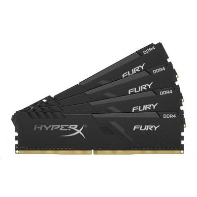 128GB 3466MHz DDR4 CL17 DIMM (Kit of 4) HyperX FURY Black
