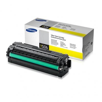Samsung CLT-Y506L High Yield Yellow Toner Cartridge