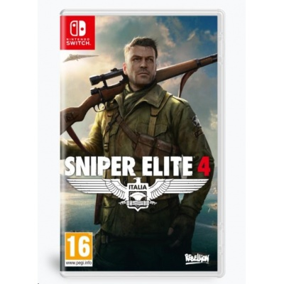 Switch hra Sniper Elite 4