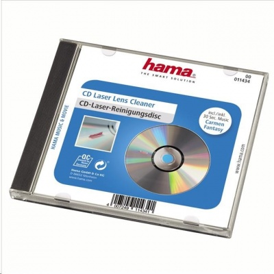 Hama čistenie laserového snímača cd prehrávača, suchý proces