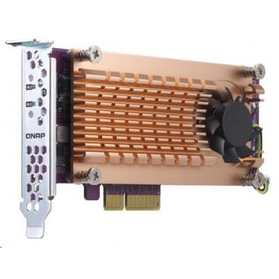 QNAP QM2-2P-344 rozšiřující karta 2xM.2 NVMe