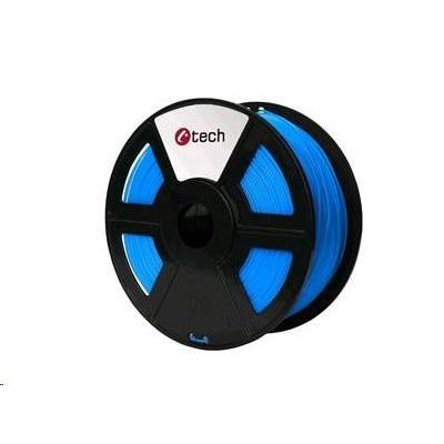 C-TECH Tisková struna (filament) HIPS, 1,75mm, 1kg, modrá