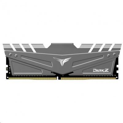 DIMM DDR4 32GB 2666MHz, CL16, (KIT 2x16GB), T-FORCE DARK Z, Gray