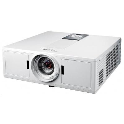 Optoma projektor ZU500TST white (DLP, Laser, FULL 3D, WUXGA, 5 000 ANSI, 300 000:1, VGA, HDMI, 2x10W speaker)
