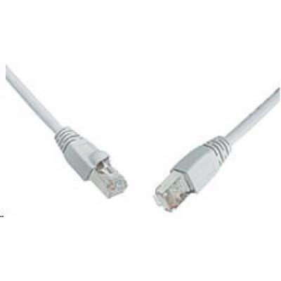 Solarix Patch kabel CAT6 SFTP PVC 10m šedý snag-proof C6-315GY-10MB
