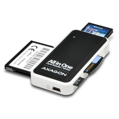AXAGON CRE-X1, USB 2.0 externí MINI čtečka 5-slot ALL-IN-ONE