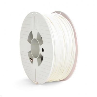 VERBATIM 3D Printer Filament PET-G 2.85mm, 123m, 1kg white