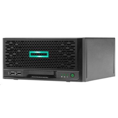 HPE ProLiant MicroServer Gen10 Plus E-2224 (3.4G/4C/8M) 1x16G 1x1TB (843266-b21)NHP4LFF 180W 4x1Gb iLo5 UMF+PB