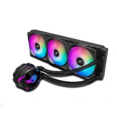 ASUS vodní chladič CPU AIO ROG STRIX LC 360 RGB, 3x120mm