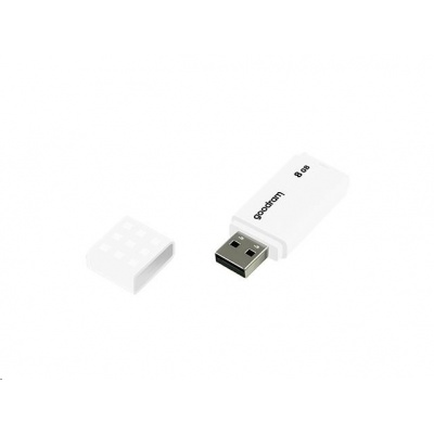 GOODRAM Flash Disk UME2 8GB USB 2.0 bílá