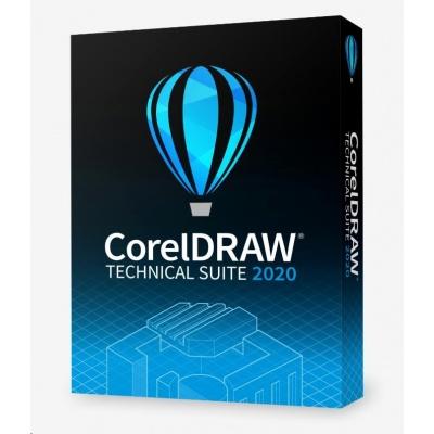 CorelDRAW Technical Suite 2020 Business Single User License (Single User) EN/DE/FR/ES/BR/IT/CZ/PL/NL