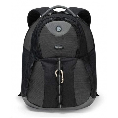 DICOTA Backpack Mission XL 15-17.3, black