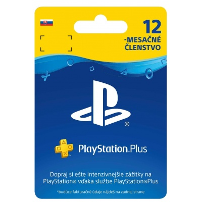 SONY PlayStation Plus Card Hang 365 dní (SK)