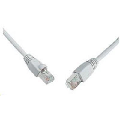 Solarix Patch kabel CAT6 SFTP PVC 20m šedý snag-proof C6-315GY-20MB
