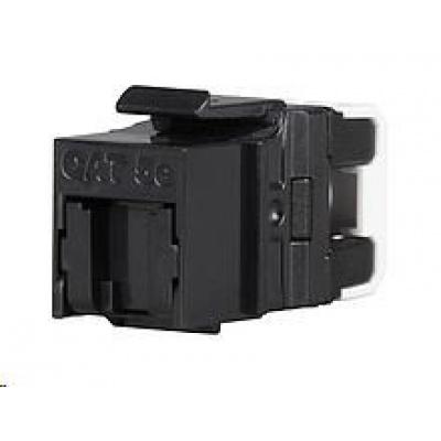 Solarix Rychlozařezávací keystone CAT5E UTP RJ45 černý SXKJ-5E-UTP-BK-NA pro kleště SXKJ-NA-BU